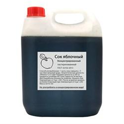 Сок концентрированный Яблочный, (кислотность 1-1.5%), 5 л - фото 10751