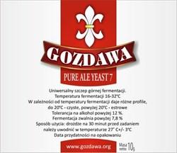 Пивные дрожжи «Gozdawa Pure Ale 7 (PAY7)», 10 гр - фото 6080