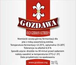 Пивные дрожжи «Gozdawa Old German Altbier (OGA9)», 10 гр - фото 6084