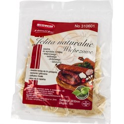 Натуральная оболочка для колбас из свиного кишечника 28/30 15 м - фото 7118