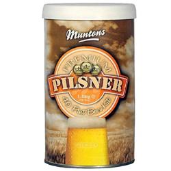 Охмеленный солодовый экстракт «Muntons — Pilsner», 1.5 кг - фото 7368