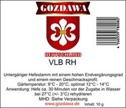Дрожжи «Gozdawa VLB RH», 10 гр - фото 8607