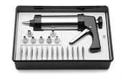 Шприц (пистолет) кондитерский с насадками, 250 мл.