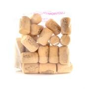 Пробки корковые для винных бутылок,23*25 (Португалия) 25 шт