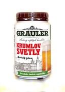 Солодовый экстракт чешского пива «Grauler — Krumlov Svetliy», 1.7 кг