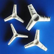 Переходник Y-образный, нар. диам 6 мм