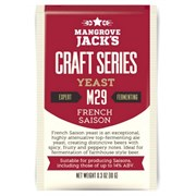 Пивные дрожжи «Mangrove Jack's Craft Series Yeast — French Saison M29»