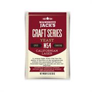 Пивные лагерные дрожжи «Mangrove Jack's — Californian Lager M54», 10г