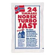 Сухие спиртовые дрожжи 24H Norsk, 195 гр