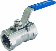Кран шаровый муфтовый полупроходной вр-вр DN 15 1/2 21.3 мм Нержавейка AISI 304