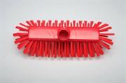 Щетка-скраб жёсткая 225 х 60 мм., красная
