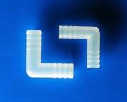 Переходник Г-образный нар. диам 8 мм