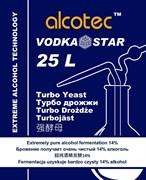 Спиртовые водочные дрожжи «Alcotec — VodkaStar Turbo», Великобритания, 66 грамм