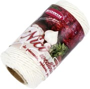 Шнур хлопковый белый для колбасных изделий (70 м, 100 гр + 300 С)