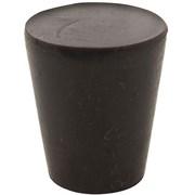Пробка резиновая, 50 мм (черная)