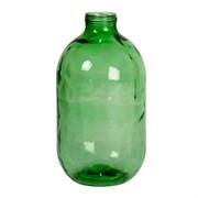 Банка 10 литров, зеленая  тип 1