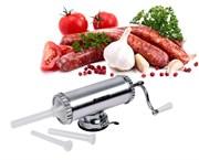 Вертикальный наполнитель колбас (колбасный шприц) 1,5 кг