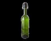Бутылка винная бугельная (Bordo Classic LM) зелёный цвет, 0.75 л