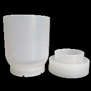 Форма сферическая двухэлементная полимерная для сыра d140мм (2кг)