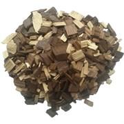 Дубовая щепа, кавказский скальный дуб, «Коньячный микс», 100 грамм