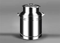 Бидон из нержавеющей стали, 38 литров - фото 10726