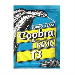 Дрожжи спиртовые Coobra Basic T 3 , 90 г (Швеция) - фото 11609
