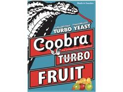 Дрожжи фруктовые Coobra Turbo Fruit, 40 г (Швеция) - фото 11610