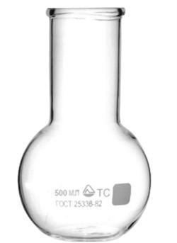 Колба плоскодонная П-2-500-34, 500 мл - фото 14140