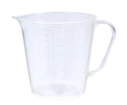 Кружка мерная пластик 1л. Микс - фото 14149