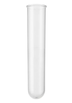 Пробирка ПП цилиндрическая 10 мл без пробки - фото 14568