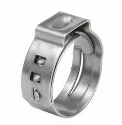 Хомут одноразовый d 13,3 н/ж сталь - фото 14573