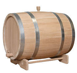 Бочка дубовая, 25 литров. Кавказский скальный дуб - фото 14574