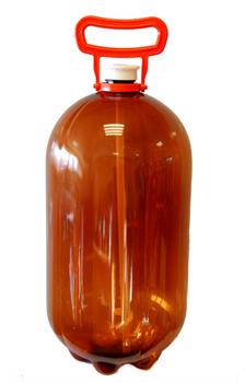 Пластиковая кега ПЭТ, 30 литров (фир) с ручкой - фото 14876