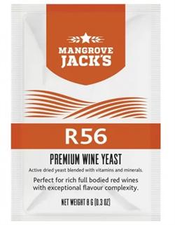 Винные дрожжи Mangrove Jack- R56 (для насыщенных красных вин с исключительной вкусовой сложностью) - фото 15245