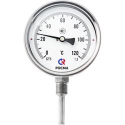 Термометр биметаллический, радиальный - фото 4735