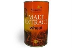 Неохмеленный солодовый концентрат пшеничный «Muntons — Wheat Malt ext», 1.5 kg - фото 5061