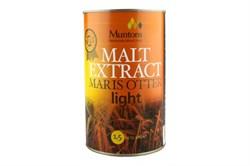 Неохмеленный солодовый экстракт Muntons Maris Otter Light 1,5кг - фото 5065