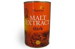 Неохмеленный солодовый экстракт «Muntons Dark Malt ext», 1.5 кг - фото 5067