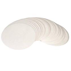 Фильтровальная бумага (обеззоленный бумажный фильтр для жидкостей), 100 штук - фото 5381