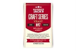 Пивные дрожжи «Mangrove Jack's — Belgian Abbey M47», 10гр (Belgian Blond, Belgian Pale Ale) - фото 5679