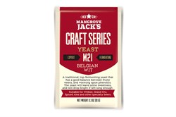 Пивные дрожжи «Mangrove Jack's Craft Series Yeast — Belgian Wit M21», 10 гр (Witbier, Grand Cru, Spiced Ale) - фото 5681