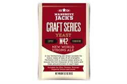 Дрожжи пивные «Mangrove Jack's Craft Series Yeast — New World Strong Ale M42», 10 гр (RIS, Barley wine, English IPA) - фото 5689