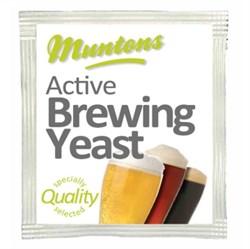 Пивные дрожжи «Muntons Standart Yeast», 6 грамм - фото 5729