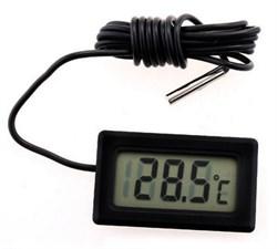 Термометр электронный NGY с датчиком, квадратный - фото 5916