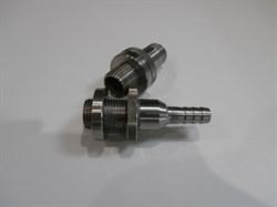Врезка 1/2 из нерж. стали, штуцер 12 мм - фото 5973