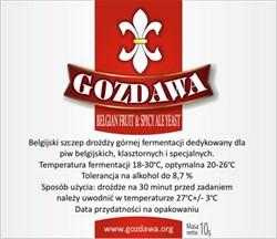 Пивные дрожжи «Gozdawa Belgian Fruit & Spicy Ale (BFSAY)», 10 гр (Бельгийский Эль, Фруктовое пиво, Специальное пиво, Пряное, травяное, овощное, пиво, Все Эли) - фото 5993