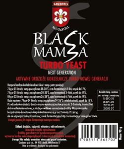Спиртовые турбо дрожжи «Gozdawa Black Mamba», 105 гр - фото 6003
