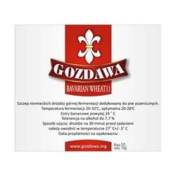 Пивные дрожжи «Gozdawa Bavarian Wheat 11 (BW11)», 10 гр (для пшеничного пива) - фото 6077