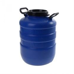 Бочка синяя пищевая, 40 литров - фото 6167