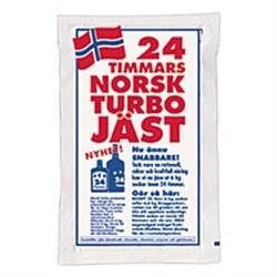 Сухие спиртовые дрожжи 24H Norsk, 195 гр - фото 6208